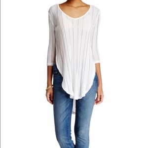 We The Free People Women's Top Shirt M Side Slits